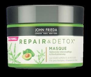 John Frieda Haarmaske Repair & Detox regenerująco-oczyszczająca maska do włosów