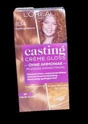 Loreal Casting Creme Gloss Coloration Kupfgold farba do włosów miedziane złoto nr 834