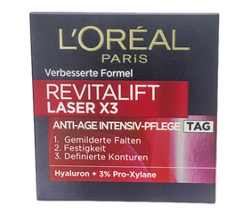 Loreal  Paris Revitalift Laser X3 Tiefenwirksame Anti-Age Pflege przeciwzmarszczkowy krem na dzień