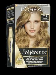 Loreal Preferance Infinia Florida 7.3 farba do włosów karmelowy blond nr 7.3