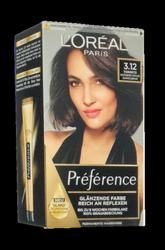 Loreal Preferance Infinia Toronto 3.12  farba do włosów chłodny intensywny ciemny brąz nr 3.12