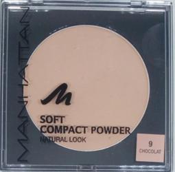 Manhattan Cosmetics Gesichtspuder Soft Compact Powder Chocolat 09 puder czekolada nr 09