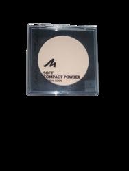 Manhattan Cosmetics Gesichtspuder Soft Compact Powder Transparent 00 puder transparentny nr 00