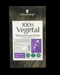Schwarzkopf Pflanzenhaarfarbe Dunkelbraun farba roślinna ciemny brąz