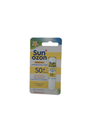 Sunozon sensitiv Lippenpflege Stift LSF 50+ pomadka ochronna do ust skóra wrażliwa fiiltr 50+ bardzo wysoka ochrona przeciwsłoneczna