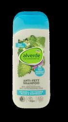 alverde Naturkosmetik Shampoo Anti Fett szampon  melisa, pokrzywa