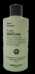udowalz Berlindetox shampoo Pure Matcha szampon oczyszczający