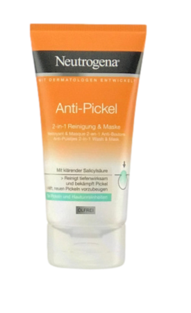 Neutrogena  Anti-Pickel 2-in-1 Reinigung & Maske oczyszczanie + maska 2w1