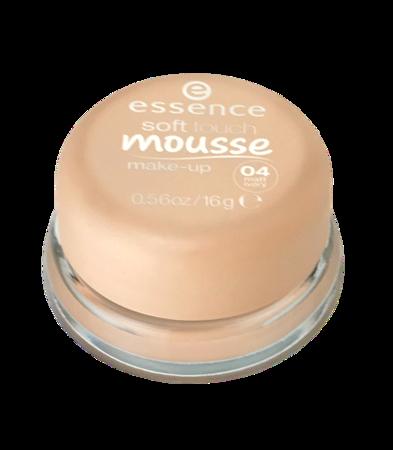 essence Soft Touch Mousse Make-up matujący podkład w musie nr 04 matt ivory kość słoniowa