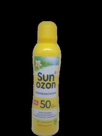 sunozon Sonnenschaum LSF 50 pianka do opalania filtr 50
