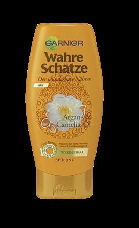 Garnier Wahre Schätze Spülung Argan und Camelia Öl szampon do włosów olej arganowy i kamelia