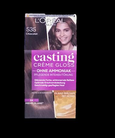 Loreal Casting Creme Gloss Intensivtönung Chocolat 535 farba do włosów czekolada
