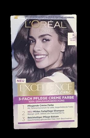 Loreal Paris Excellence Creme Coloration Hellbraun farba do włosów nr 5 jasny brąz