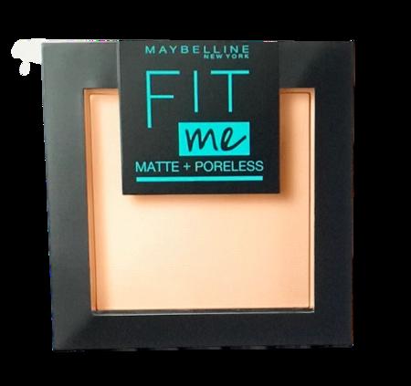 Maybelline Fit Me! Matte und Poreless Powder nr 120 Classic Ivory mattierendes Puder puder matujący nr 120 klasyczna kość słoniowa
