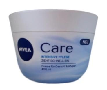 Nivea Care Intesiv Pflege krem pielęgnujący dotwarzy i ciała 400 ml