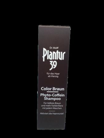 Plantur 39 Shampoo Phyto-Coffein Color Braun szampon do włosów brązowych