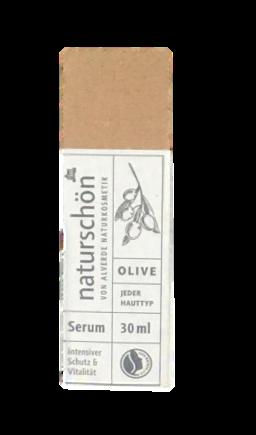 alverde Naturkosmetik Serum naturschön serum do twarzy oliwka